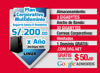 Plan Corporativo S/. 200 soles anuales