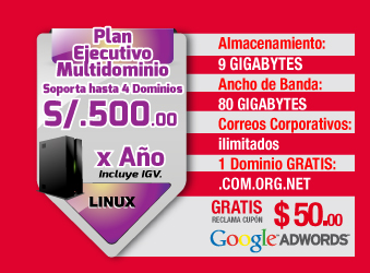 Plan Ejecutivo S/. 500 soles anuales